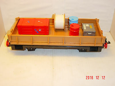 Playmobil Train  LGB flat Freight Car plus load  L.G.B. G Scale Gauge IIm
