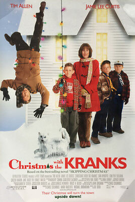 CHRISTMAS WITH THE KRANKS MOVIE POSTER 2 Sided ORIGINAL Ver B 27x40 TIM ALLEN