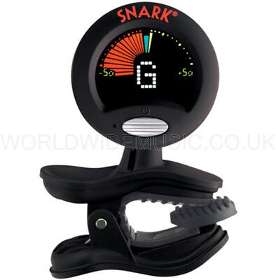 SNARK SN6X Clip-on Chromatic Ukulele Tuner includes battery.