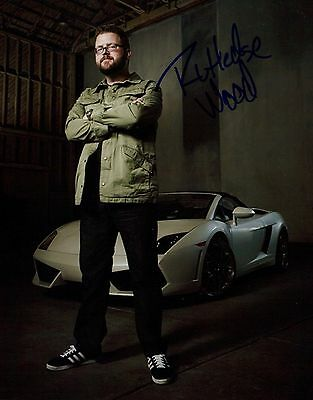 Rutledge Wood In Person Signed Photo - B504 - Host of Top Gear USA