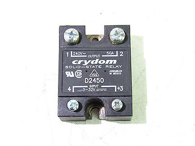 Crydom D2450 Solid-State Relay 3-32V ***xlnt***