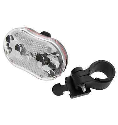 9 LED FRONT Bicycle Cycle Bike LIGHT With Reflector 7 Modes Durable Weatherproof