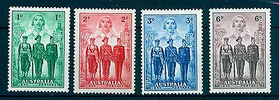 Australia 1940 Imperial Forces (set of 4) MNH