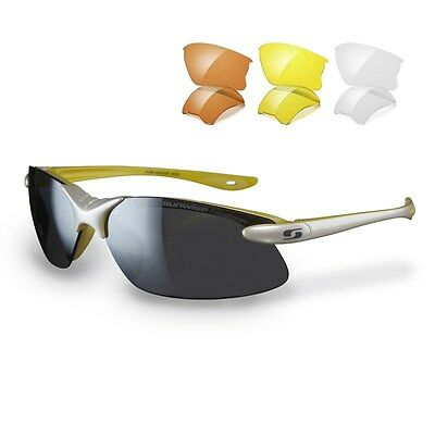 Sunwise Windrush White sunglasses interchangeable lens