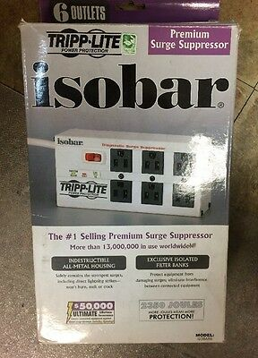 Power surge. ISOBAR6ULTRA 6 Outlets premium surge Suppressor, 12A, 6ft.