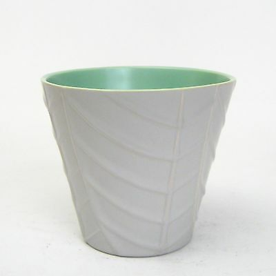Catalina Art Pottery GMB Gladding McBean Franciscan Leaf Design Planter #CAP1212