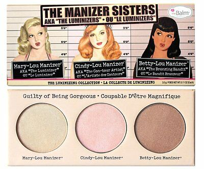 NEW The Balm The Manizer Sisters AKA The Luminzers Collection 3g
