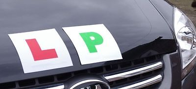 New P Plates Fully Magnetic Secure Green Driver For Just Passed Car Vehicle