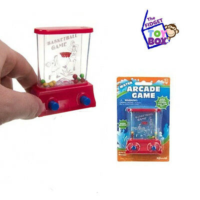 Mini Water Arcade Game BASKETBALL Stress Relief Fidget Toy autism adhd