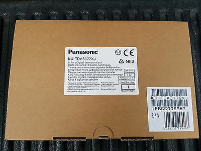 Brand New Panasonic KX-TDA3172 8-Port Digital Line Card KX-TDA3172XJ