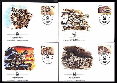 1994 Kyrgyzstan - Wwf - Panthers - 4 Covers - Fdi - Cover - J45