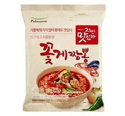 Non-fried Ramyun Noodle 3.7 Oz Each - Pack of 8 (Seafood)