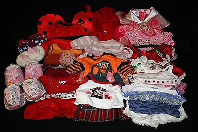 Huge Lot Build a Bear Plush Clothes & Shoes for Boys/Girls, Christmas Outfits ++