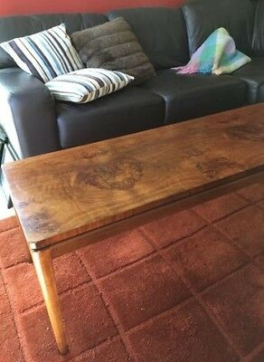 Beautiful Art Deco Solid Timber Wood Large Coffee Table 1220x460 440 High