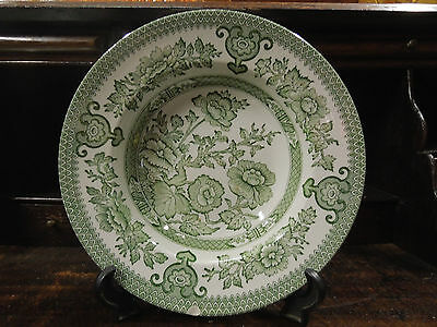 Vintage Indian Tree Soup bowl with Hand Engraving- Made in England
