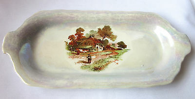 Empire Works Stoke-On-Trent Dish, Made in England, Porcelain