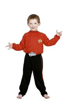 Red Wiggles Boys Costume