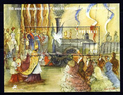 Portugal 2006 Railways M/S MNH