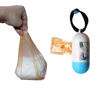 Portable Kawaii Rubbish Bags Disposable Bag Baby Diapers Abandoned Bags Case