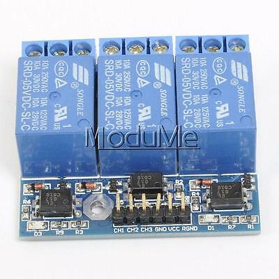 3.3V 5V 3-Channel Relay Module With Optocoupler Isolation Compatible Signal MO