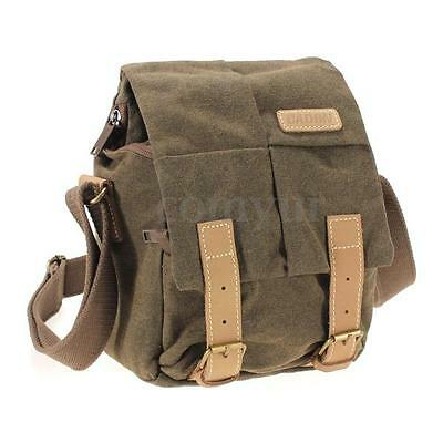 N2 Canvas Waterproof Camera Shoulder Messenger Bag For DSLR Canon Nikon Sony