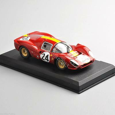 1:43 Racing Car Ferrari 330 P4 24h Le Mans 1967 (24#) Model  Collection as Gifts