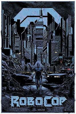 Kilian Eng - Robocop - 24 x 36 inches regular edition of 220 officially licensed