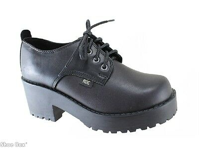 Roc Boots Chickadee Leather Lace Up Heeled School Shoes EU 36-41