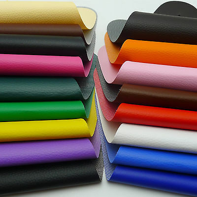 Lichee Grain Faux Leather Leatherette Material  A4 Vinyl Uphplstery Fabric Craft