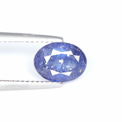 Top Nice 2.78Cts Natural Royal Blue Ceylon Sapphire Oval Loose Gemstone