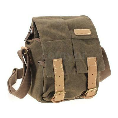 CADEN N1 Waterproof Canvas Camera Shoulder Bag For Canon SONY Nikon DSLR SLR uk