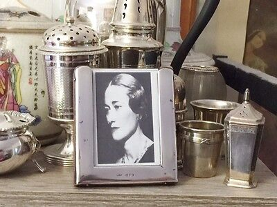 Solid  Silver Surround  faced frame - Chester 1910