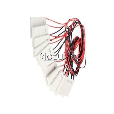 1/2/5/10PCS TEC1-12706 Heatsink Thermoelectric Cooler Cool Peltier Plate 12V MO