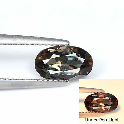 Dazzling Top 1.52Cts Natural Color Change Axinite Afghan Loose Gemstone