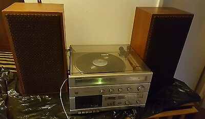 Vintage Sharp Music Center SG-20E -record player/Radio casse Excellent condition