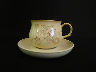 Denby Sandalwood Tea Cups and Saucers