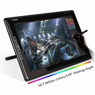 """Huion 18.4"""" Graphic Pen Tablet Monitor Display Screen 1366x768 GT-185 UK Stock"""