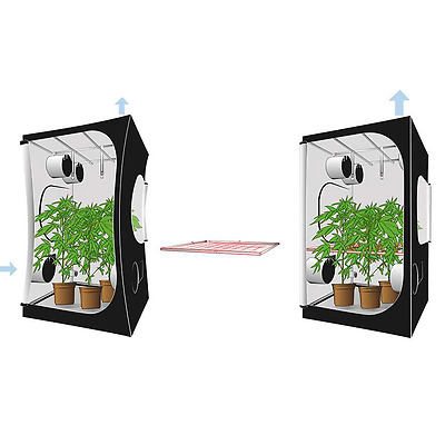 Befestigungsset für Growzelte Secret Jardin Space Booster Ø19mm (90cm)