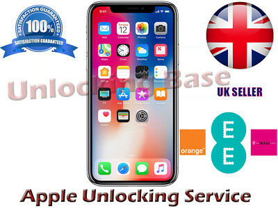 Unlock Orange / Ee / T-Mobile Uk Service For Iphone 8 Plus In 24-48 Hours