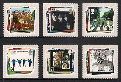 GB QEII MNH STAMP SET 2007 The Beatles SG 2686-2691 10% OFF ANY 5+