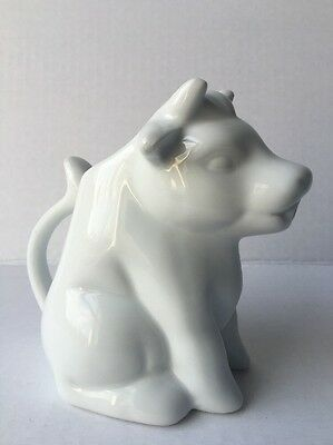 Cow Creamer By Palate & Plate White New Light Weight Coffee Tea
