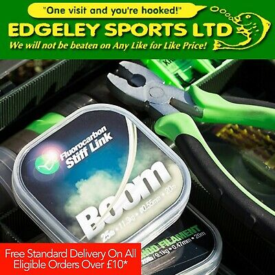 Korda Fluorocarbon Hooklink (Various Types & Sizes Available) - Boom & IQ2