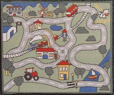 Dolls House 12th Scale Childrens' Car Play Mat