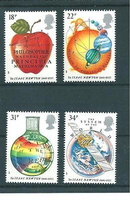 GB MNH STAMP SET 1987 Sir Isaac Newton SG 1351-1354 10% OFF FOR ANY 5+