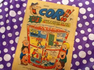 COR!! #1  - First Issue!   6th June 1970