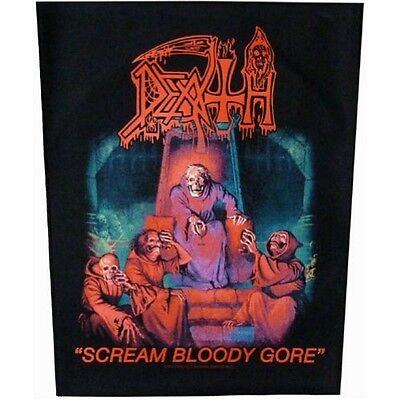 Death Scream Bloody Gore Jacket Back Patch Official Death Metal New