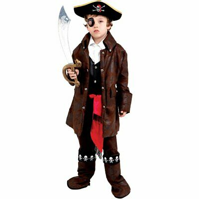 Cute Caribbean Boy Pirate Costume By Dress Up America  sc 1 st  PicClick & SAILOR BOY COSTUME By Dress Up America - Size X-Large - $16.95 ...