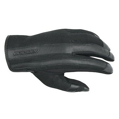 New DRIRIDER URBAN GLOVES BLACK LADIES Motorcycle