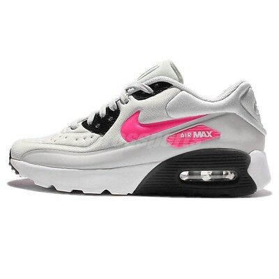 Nike Air Max 90 Ultra SE GS Grey Pink BlackGirls/Women's Running Shoes844600-005