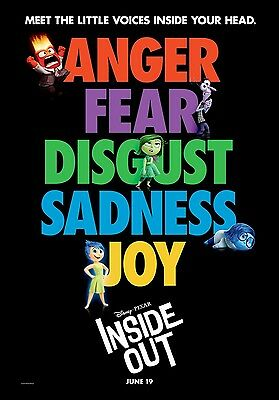 "INSIDE OUT ""B"" vg 27x39 ORIGINAL D/S MOVIE POSTER"